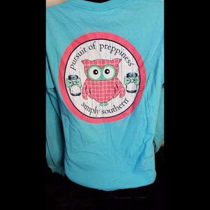Simply Southern Pursuit Of Preppiness Long Sleeve
